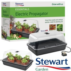 Stewart Medium Heated Propagator (38x24x18cm)