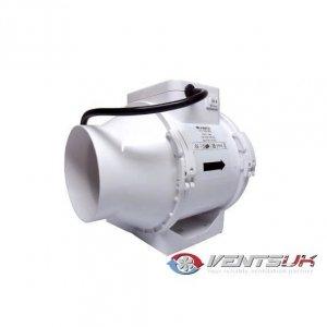 Vents Extractor TTRV 100mm 2 Speeds 150-190mᶟ/h