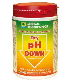 GHE pH Down Powder 250gr
