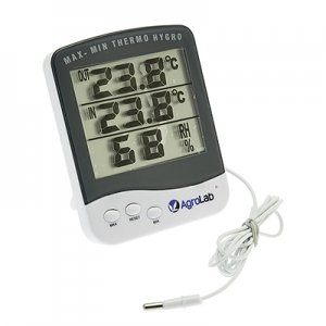 AgroLab Thermo-Hygrometer with External Probe