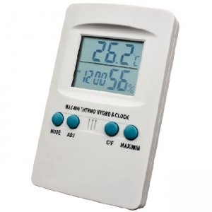 Mini Hygro Temp & Clock