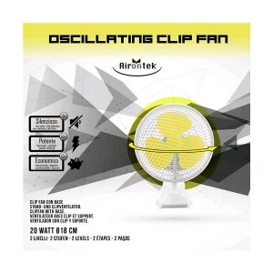 Airontek Clip Fan Movement