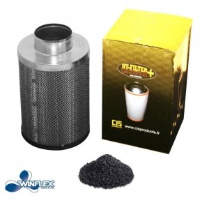 Hy-Filter V2 Carbon 100mm 250m³/hr