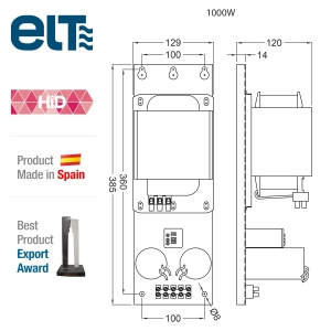 ELT Ballast 1000w