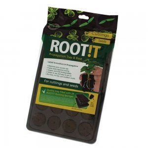 ROOT!T Natural Rooting Sponges 24 Cell Filled Trays