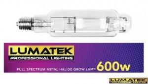 Lumatek Metal Halide 600w