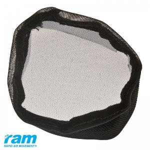 RAM Bug Barrier 100mm - 4 Velcro Parts