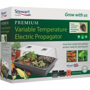 Stewarts Large Variable Heated Propagator (52x42x28cm)