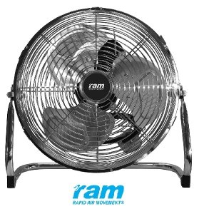 Ram 23cm Air Circulator – 2 Speed