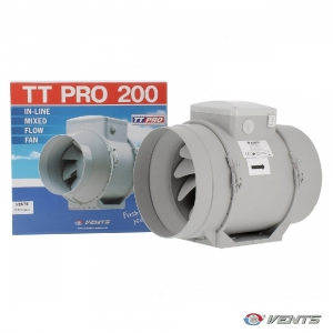 Vents Extractor TTRV PRO 200mm 2 Speeds 830-1040mᶟ/h