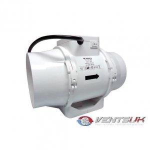 Vents Extractor TTRV 125mm 2 Speeds 220-280mᶟ/h